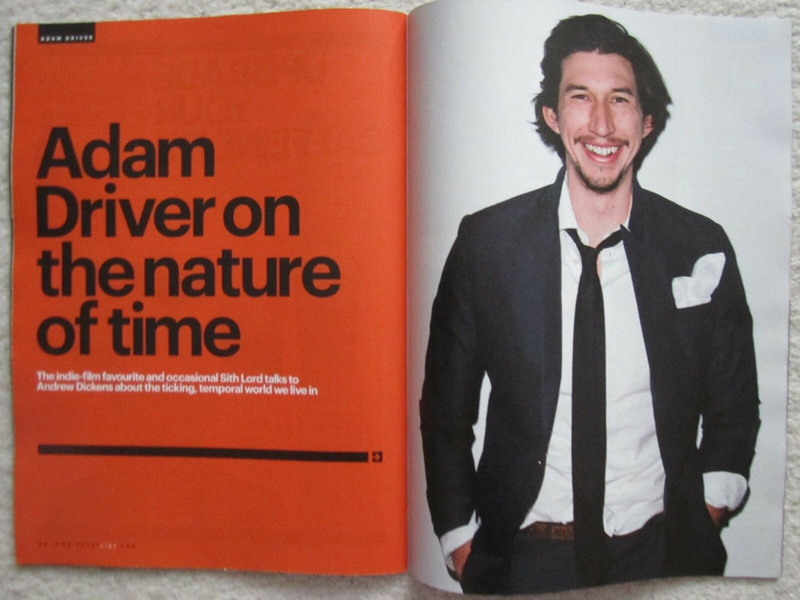 DONALD TRUMP - PRESIDENT TRUMP - ADAM DRIVER UK SHORTLIST MAGAZINE NOVEMBER 2016