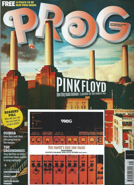 UK PROG Magazine January 2021 PINK FLOYD & FREE CD