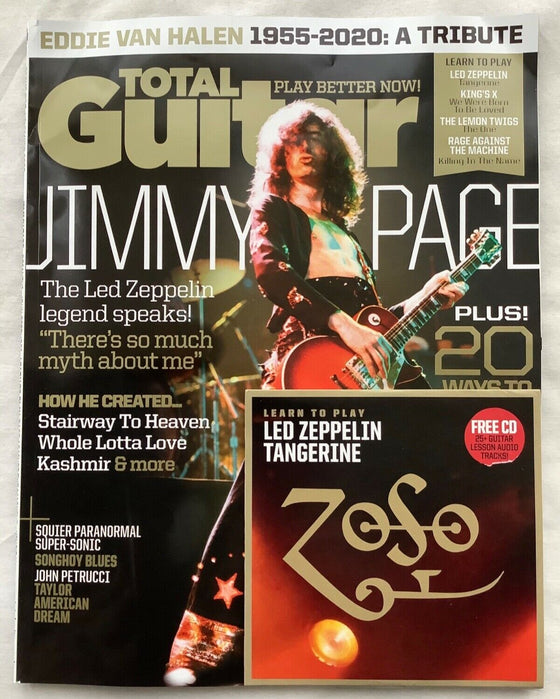 Total Guitar Magazine Issue 338 - Jimmy Page / Led Zeppelin with CD **New**