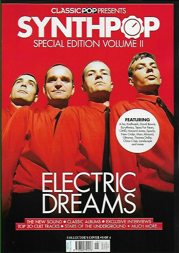CLASSIC POP PRESENTS magazine Oct 2020 - KRAFTWERK SYNTH-POP SPECIAL COVER