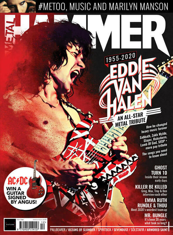 Metal Hammer DEC 2020: EDDIE VAN HALEN Special Tribute Marilyn Manson GHOST