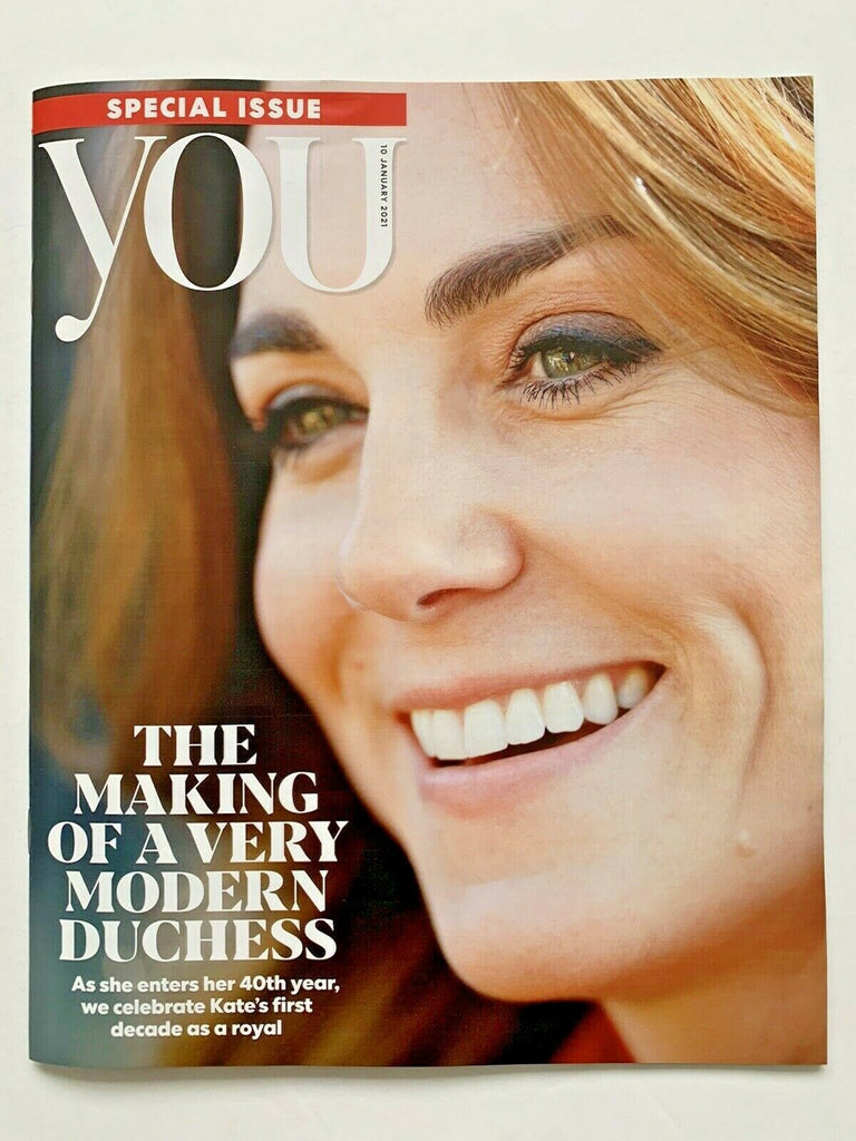UK You Magazine KATE MIDDLETON in her 40th year January 10th 2021