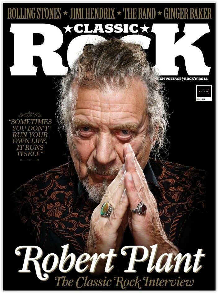 Classic Rock Magazine December 2019: ROBERT PLANT LED ZEPPELIN Def Leppard