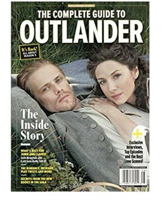 The Complete Guide To Outlander Magazine Book Inside Story - Sam Heughan