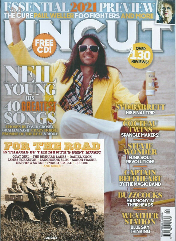 UK Uncut Magazine FEB 2021: NEIL YOUNG COVER SPECIAL & FREE CD