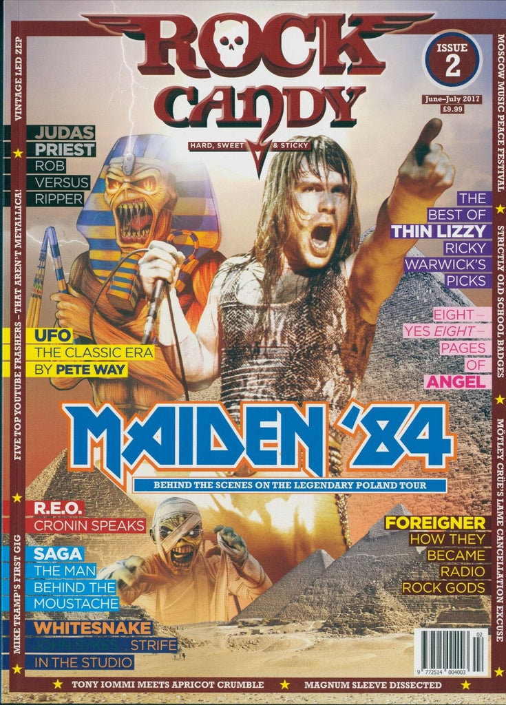Rock Candy Magazine - Issue 2 - Iron Maiden