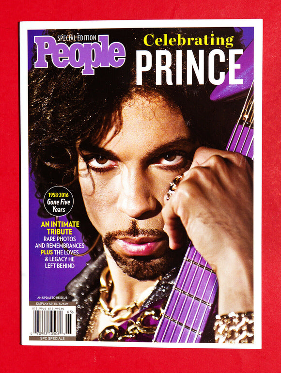 PRINCE Special Edition People Magazine 2021 Reissue Brand New