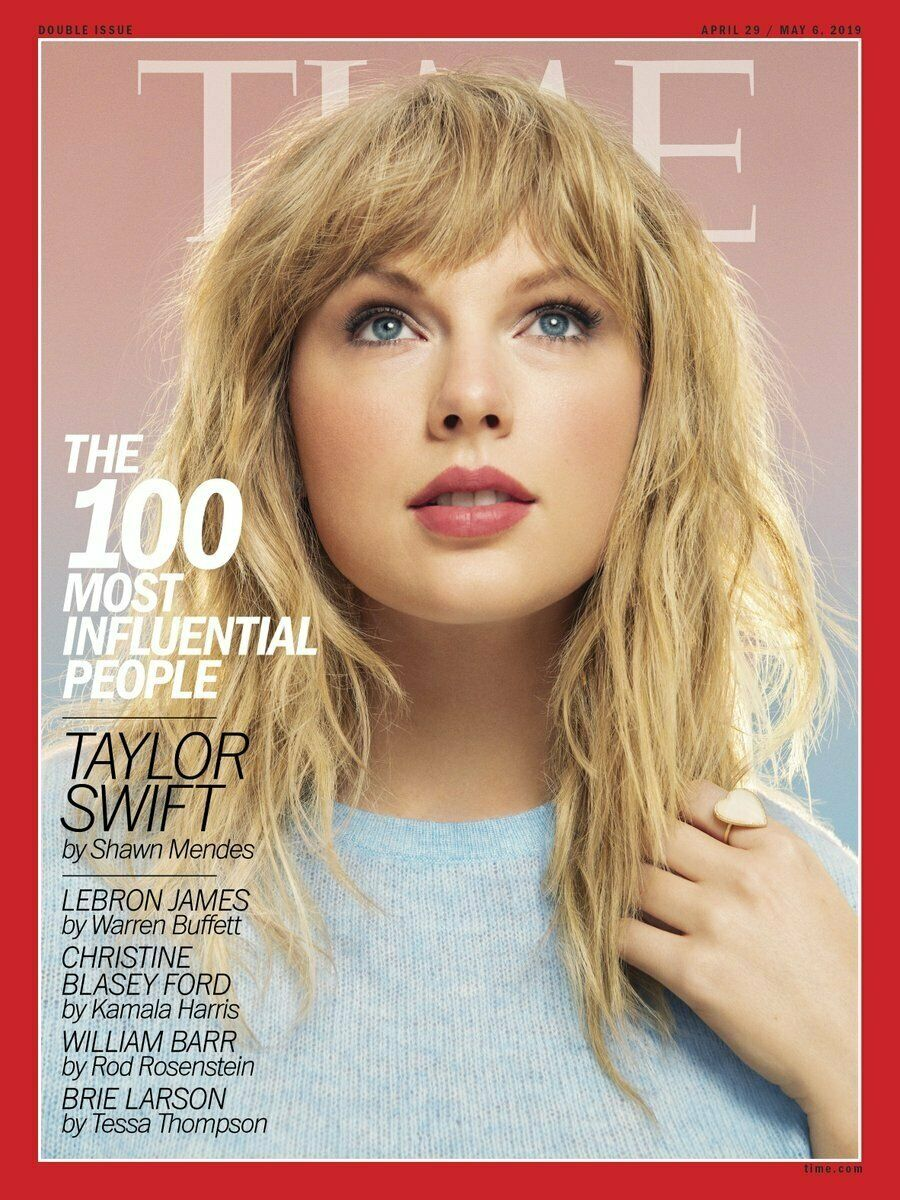 EUROPEAN TIME MAGAZINE April 29 2019 TAYLOR SWIFT 100 most influential people