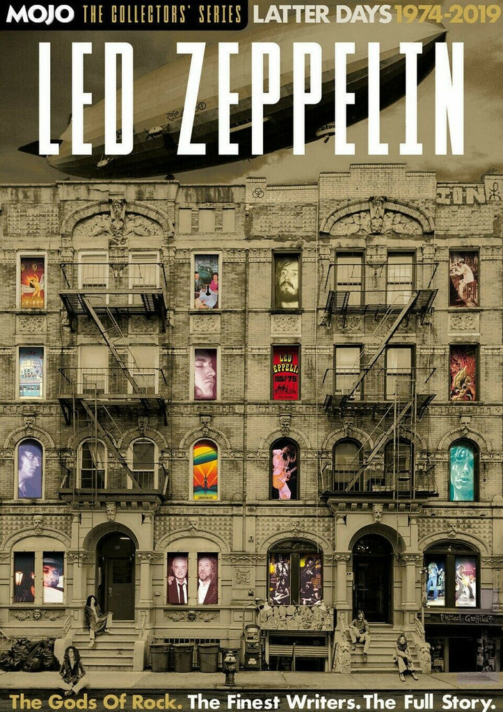 MOJO Magazine LED ZEPPELIN THE COLLECTORS SERIES LATTER DAYS 1974 - 2019