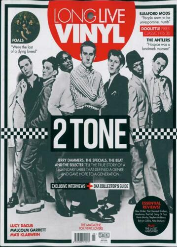 Long Live Vinyl Magazine May 2019: 2 TONE Jerry Dammers THE SPECIALS The Beat