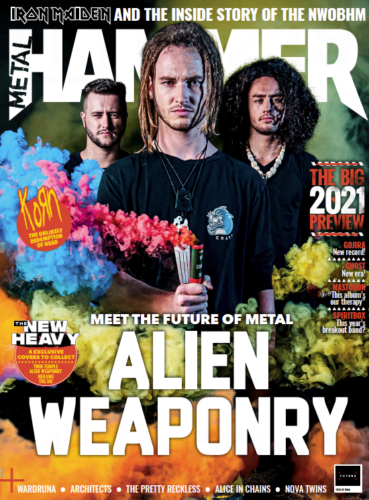 Metal Hammer Magazine FEB 2021: ALIEN WEAPONRY COLLECTORS COVER