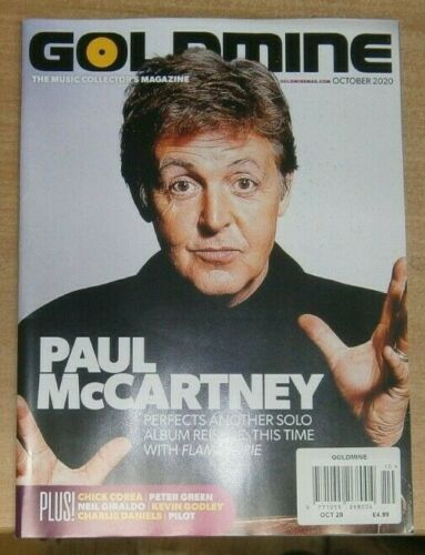 Goldmine magazine Oct 2020 Paul McCartney The Beatles