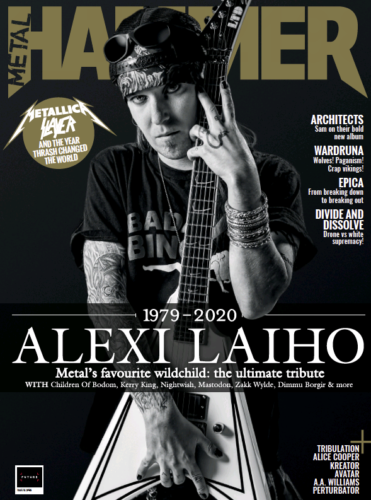 Metal Hammer Magazine March 2021: ALEXI LAIHO COLLECTORS COVER Children of Bodom