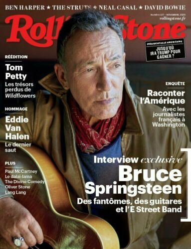 BRUCE SPRINGSTEEN - ROLLING STONE MAGAZINE FR - OCTOBER 2020 - Tom Petty Van Halen