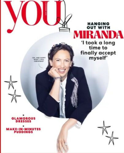YOU magazine 8 December 2019 Miranda Hart cover + interview
