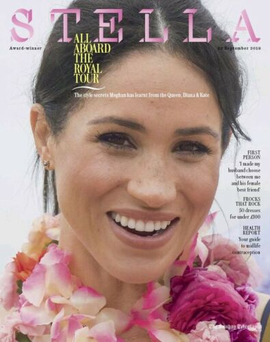 UK Stella Magazine September 2019: MEGHAN MARKLE Kate Middleton COVER FEATURE