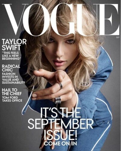 TAYLOR SWIFT - VOGUE US MAGAZINE - SEPTEMBER 2019 - NEW