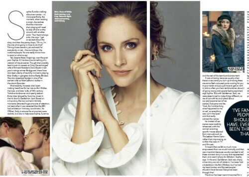 UK You Magazine 18th August 2019: SOPHIE RUNDLE on Gentlemen Jack, Suranne Jones