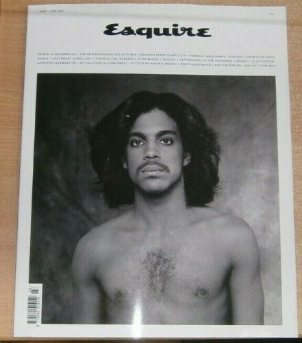 Esquire magazine Mar/Apr 2021 Prince - A Celebration