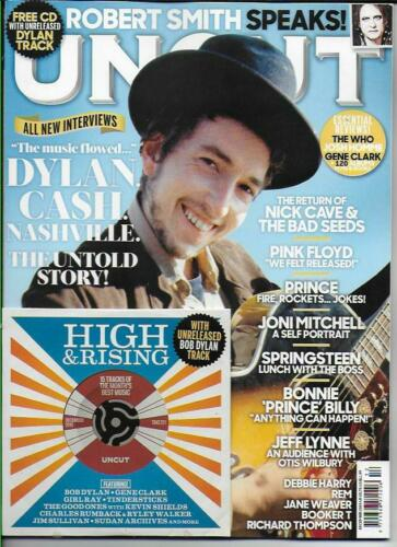UNCUT magazine December 2019 Bob Dylan Robert Smith Jeff Lynne & Free CD