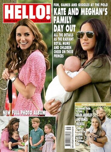 Hello Magazine July 22 2019: MEGHAN MARKLE Archie KATE MIDDLETON Barbra Streisand