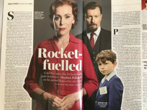 RADIO TIMES MAGAZINE 18 May 2019 Suranne Jones Toby Stephens Keeley Hawes