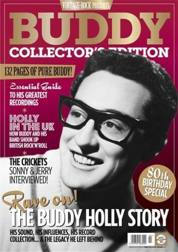 UK Vintage Rock Presents magazine Buddy Holly 80th Birthday Special Issue
