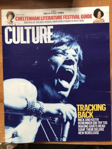 UK Culture Magazine August 2020: ROLLING STONES Mick Jagger KEITH RICHARDS