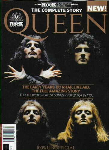 Classic Rock Platinum Series Magazine - Issue 16 The Complete Story QUEEN FREDDIE MERCURY
