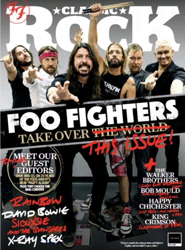 Classic Rock Issue 284 The Foo Fighters Dave Grohl Guest Edit