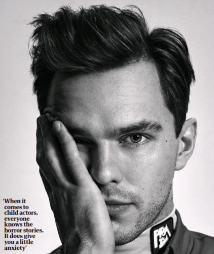 UK Guardian Weekend January 2021: NICHOLAS HOULT COVER & FEATURE