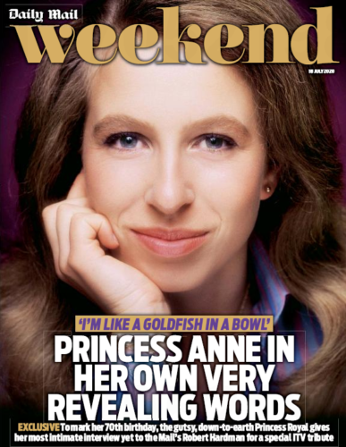 UK WEEKEND Magazine July 2020: PRINCESS ANNE COVER FEATURE Bjorn Ulvaeus ABBA!
