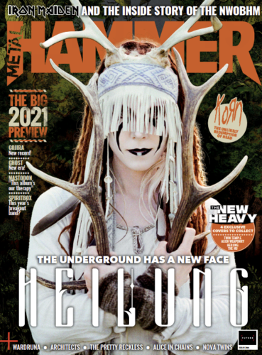 Metal Hammer Magazine February 2021: HEILUNG COLLECTORS COVER Iron Maiden Korn