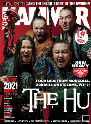 METAL HAMMER MAGAZINE FEB 2021 #344 = THE HU - THE BIG 2021 PREVIEW