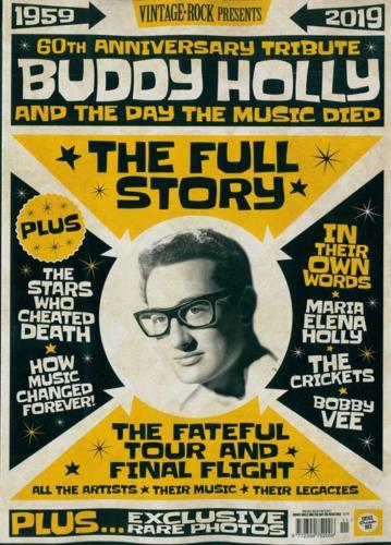 UK Vintage Rock Presents magazine 2019 Buddy Holly 60th Anniversary Tribute