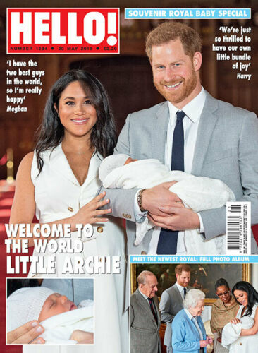 HELLO! magazine 20 May 2019 Meghan Markle Harry Archie - A Royal Baby souvenir