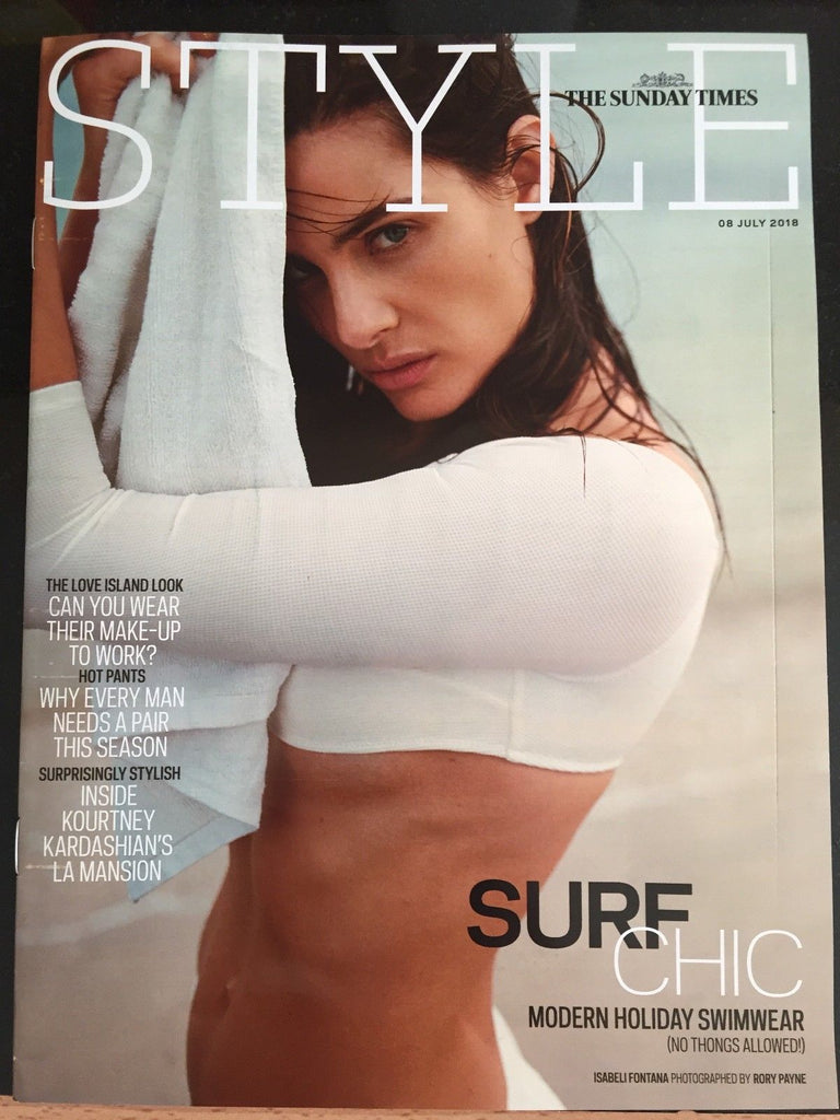 UK Style Magazine July 2018: ISABELI FONTANA COVER INTERVIEW