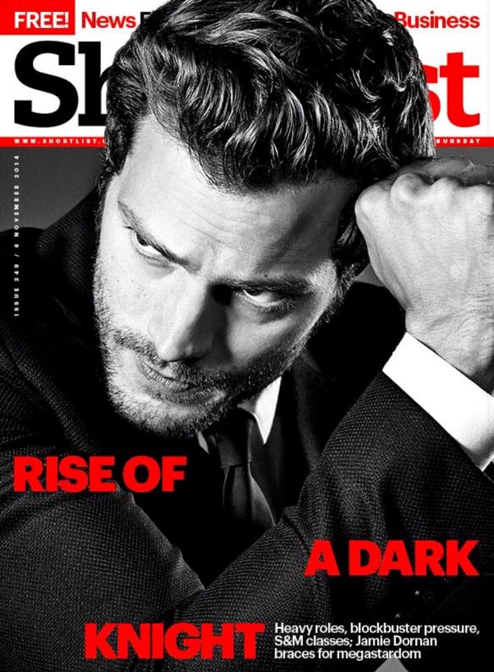 50 Shades of Grey JAMIE DORNAN Photo Cover interview Shortlist MAGAZINE 2014