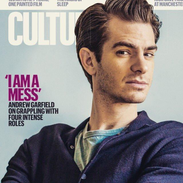 Andrew Garfield on the cover of Culture Magazine