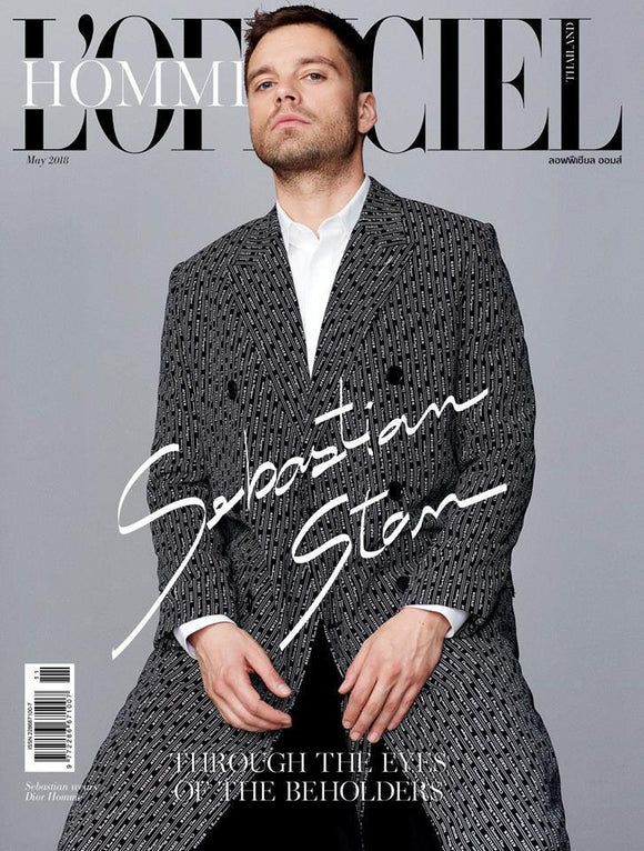Sebastian Stan - L'Officiel Hommes Thailand Magazine May Issue 2018 Brand New