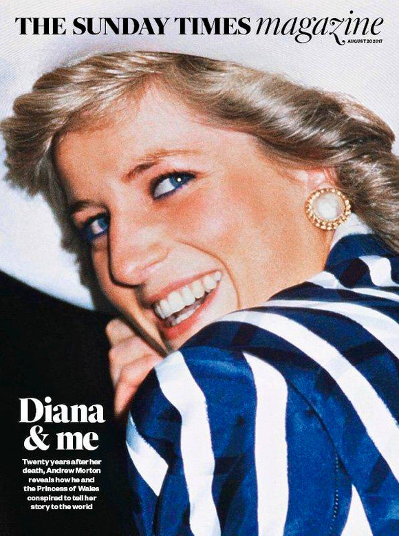 UK Sunday Times magazine 20 August 2017 - Princess Diana And Me