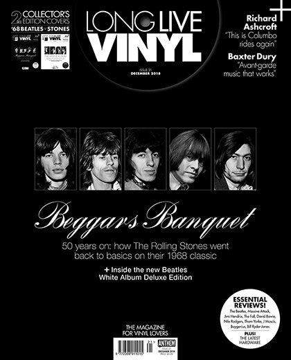 Long Live Vinyl Magazine December 2018: The Rolling Stones - Beggars Banquet