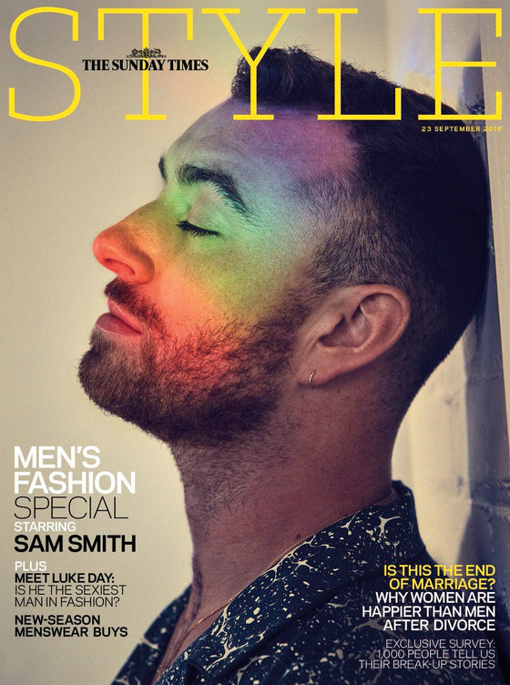UK Style Magazine September 2018: SAM SMITH COVER INTERVIEW