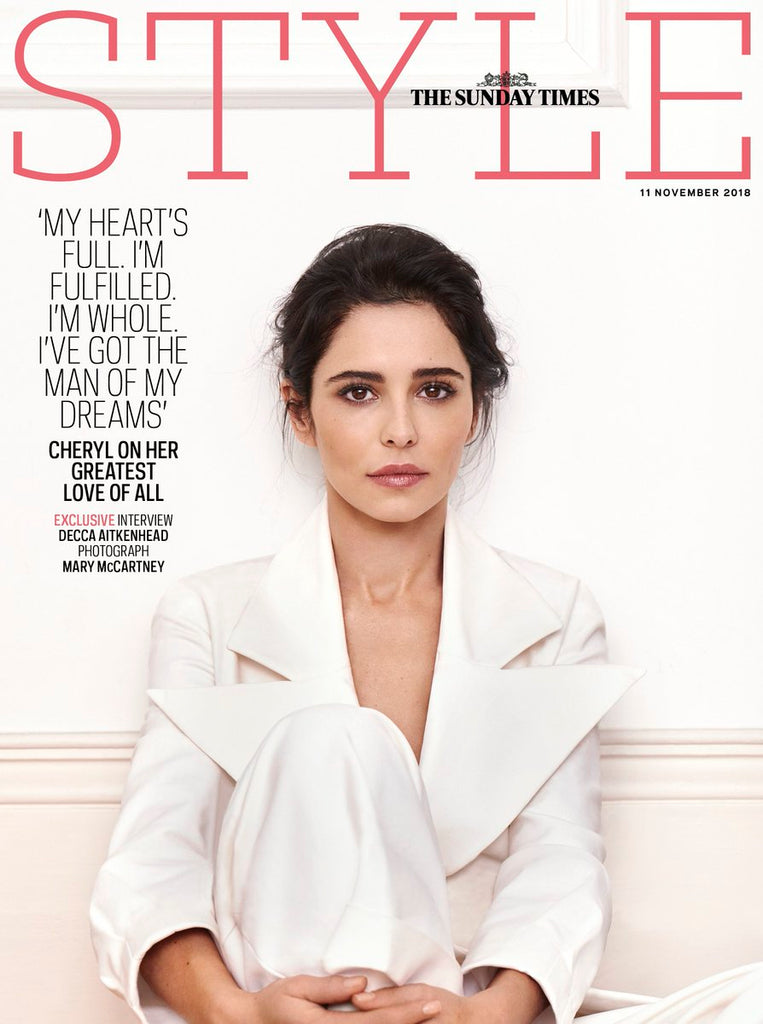 Sunday Times Style Magazine November 2018: CHERYL Cover And Exclusive Interview