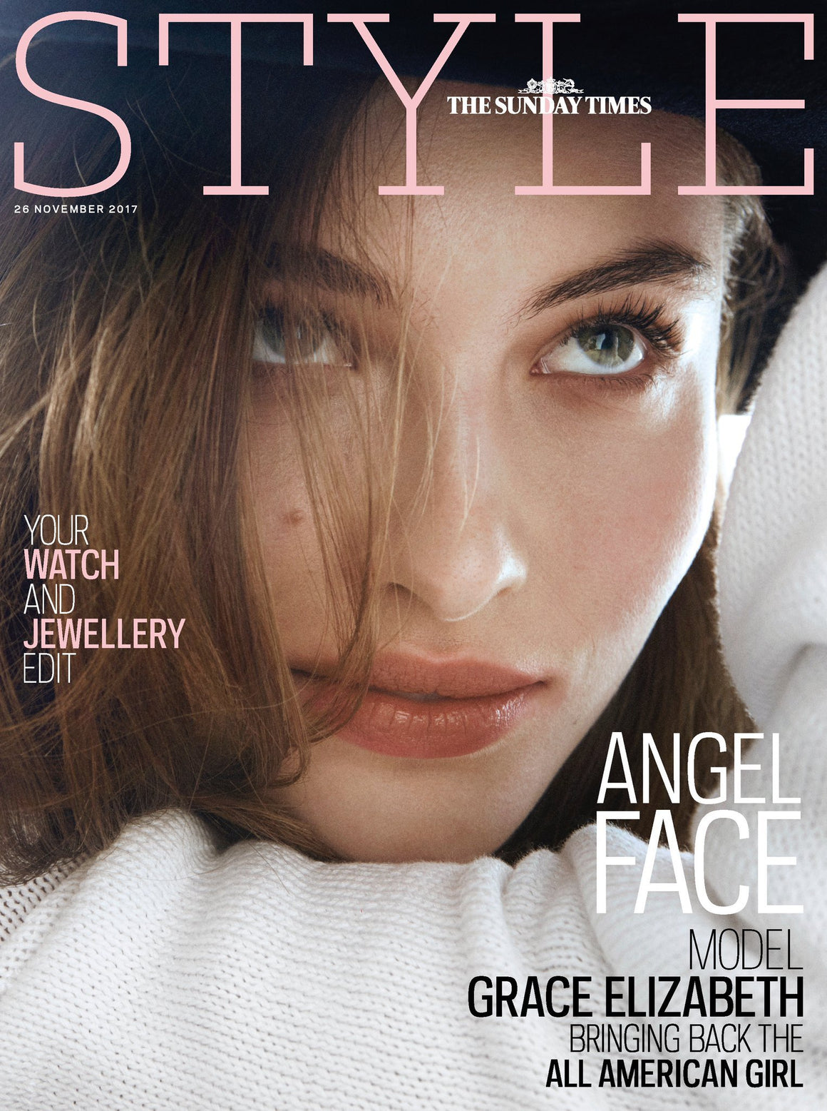 Grace Elizabeth on the cover of Style Magazine