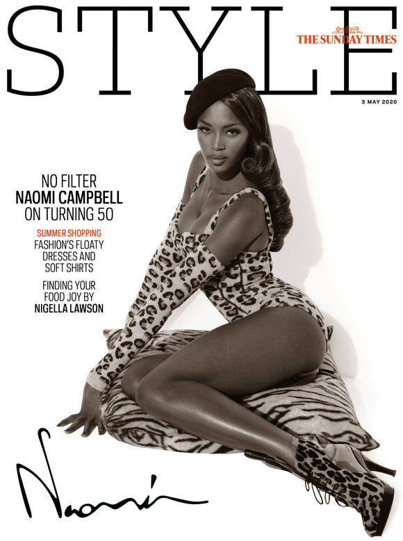 UK Style Magazine May 2020: NAOMI CAMPBELL COVER FEATURE AT 50 Tori Amos