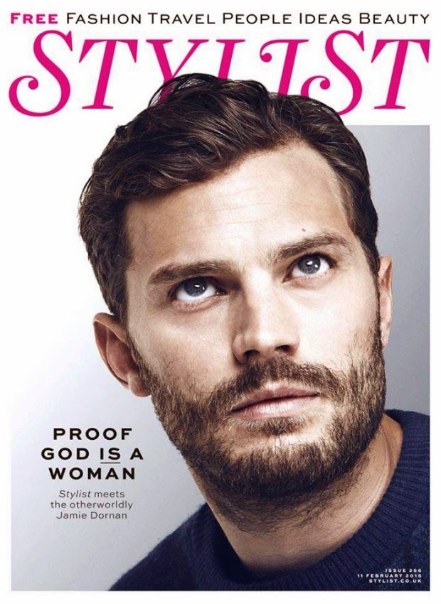 Jamie Dornan on the cover of Stylist Magazine