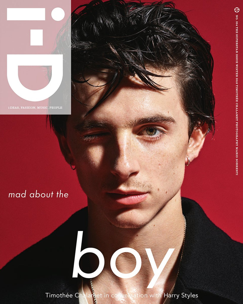 i-D Magazine Winter 2018: Timothée Chalamet interviewed by Harry Styles