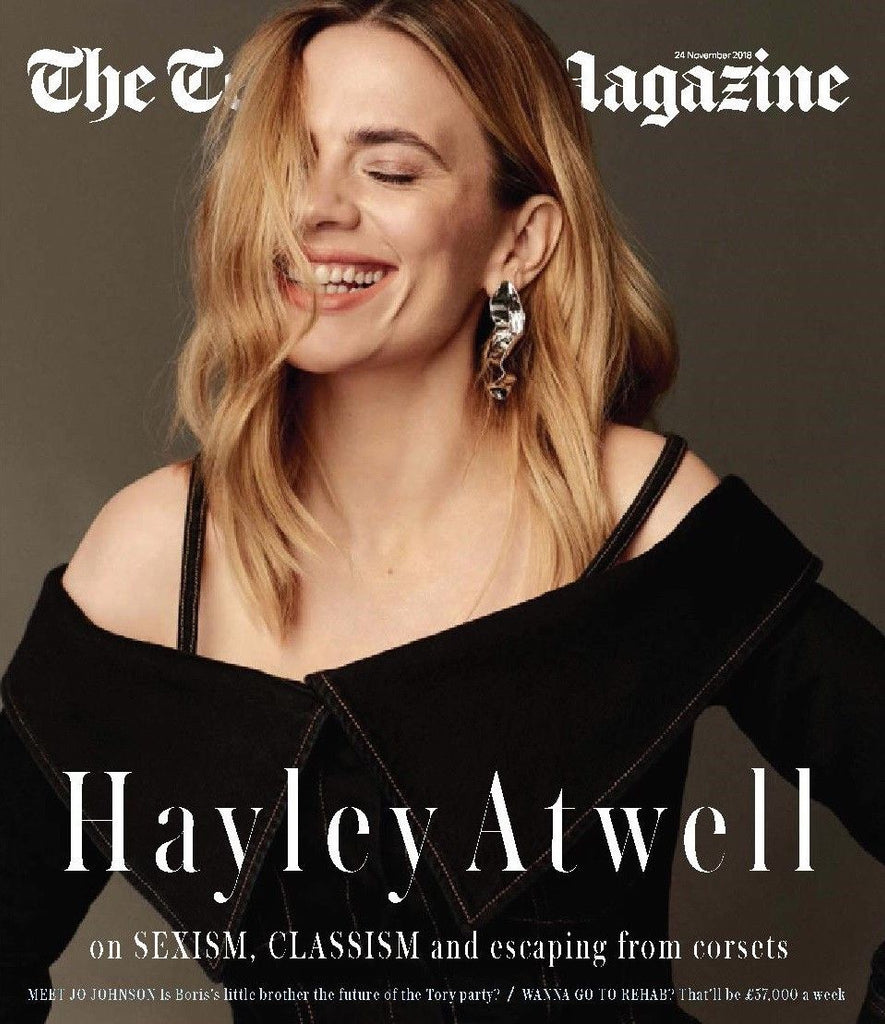 UK Telegraph Magazine November 2018: HAYLEY ATWELL COVER & FEATURE