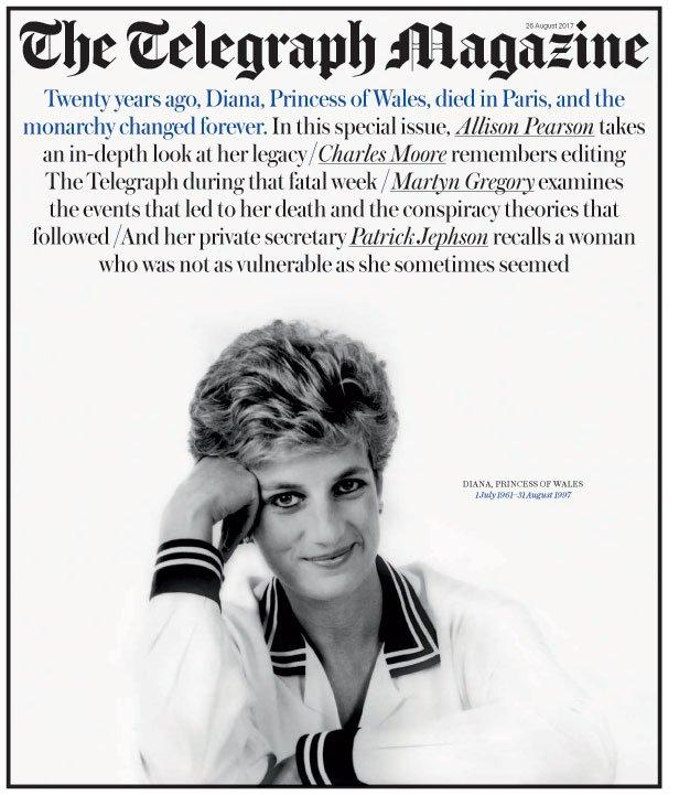 UK Telegraph magazine 26 August 2017 - Princess Diana Special 20 Years Edition